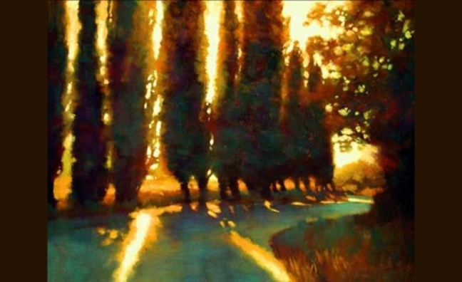 Teresa Saia Winding Road to the Villa  Pastel_m.jpg
